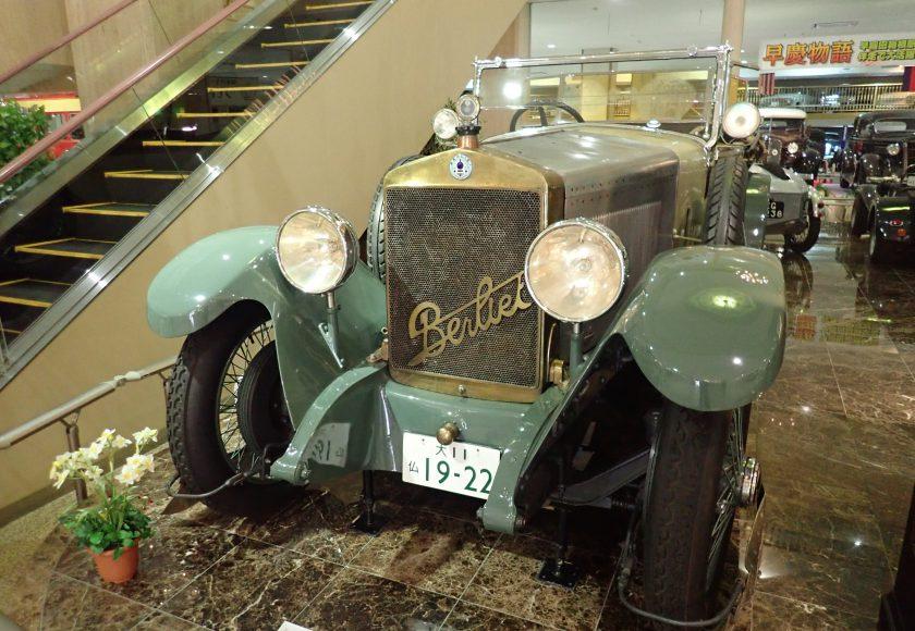 大正時代のフランスの高級車です ベルリエ(ベリエ)V-G22 ...