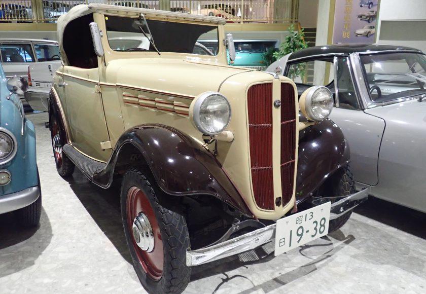 戦前最後の日産車、発売まもなく生産中止 ダットサン17型ロードスター ...