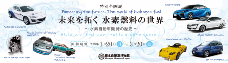 未来を拓く 水素燃料の世界~水素自動車開発の歴史~